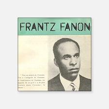 """Frantz Fanon Square Sticker 3"""" x 3"""""""
