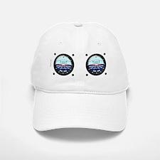 Artificial Horizon (white) Baseball Baseball Cap