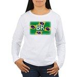 Brazil Pride Women's Long Sleeve T-Shirt