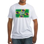 Brazil Pride Fitted T-Shirt