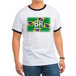 Brazil Pride Ringer T