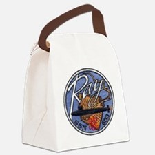 uss ray patch transparent Canvas Lunch Bag