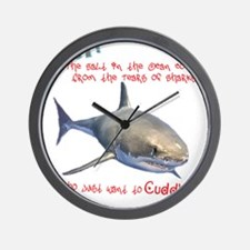 The Tears of a Shark (Non-Redundant) Wall Clock