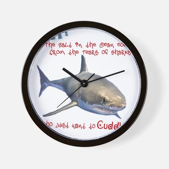 The Tears of a Shark (Non-Redundant) Wall Clock