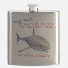Shark Tears Flask