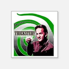 """Hello Trickster Square Sticker 3"""" x 3"""""""