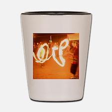 Love Fire Shot Glass