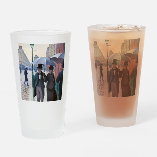 Caillebotte Drinking Glass