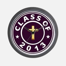 Class Of 2013 Christian Wall Clock