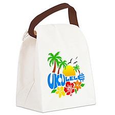 Ukulele Island Logo Canvas Lunch Bag