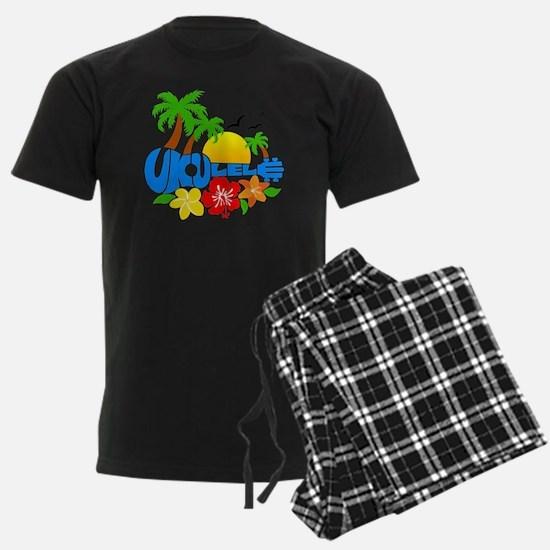 Ukulele Island Logo Pajamas