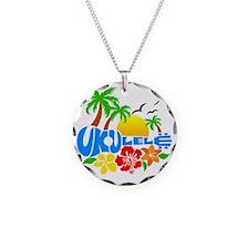 Ukulele Island Logo Necklace