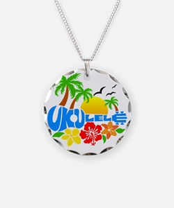 Ukulele Island Logo Necklace