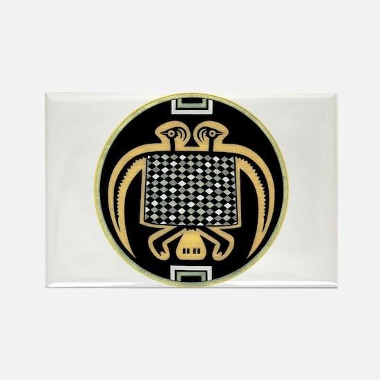 MIMBRES PHOENIX BOWL DESIGN Rectangle Magnet