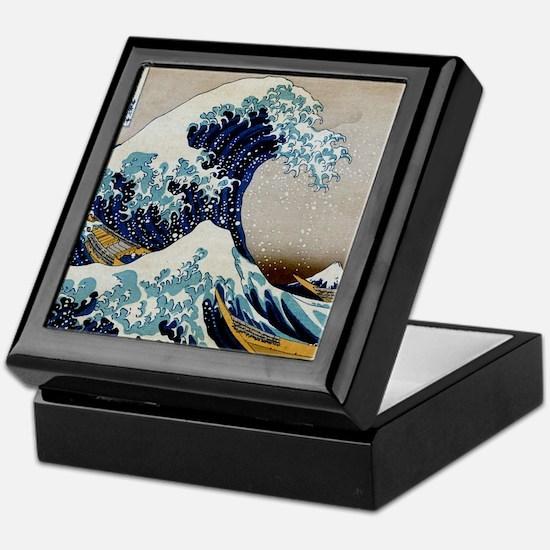 Hokusai Keepsake Box
