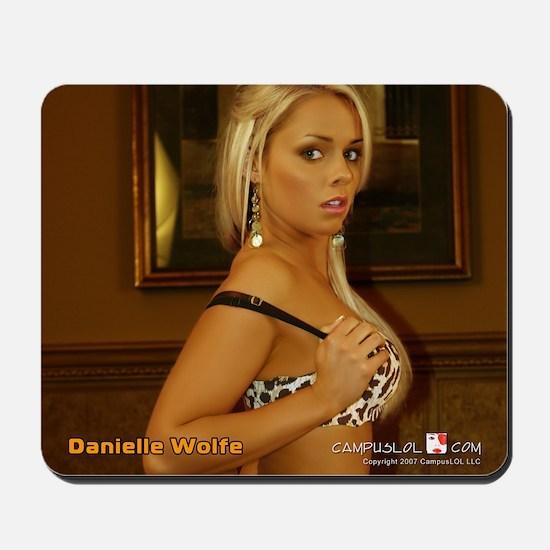 Danielle Wolfe Mousepad