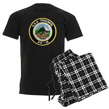 uss yosemite patch transparent Pajamas