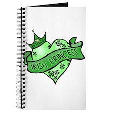 Irish Princess St. Patricks Day Journal