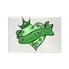 Irish Princess St. Patricks Day Rectangle Magnet