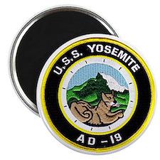 uss yosemite patch transparent Magnet
