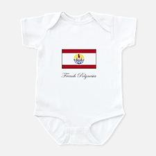 French Polynesia - Flag Infant Bodysuit