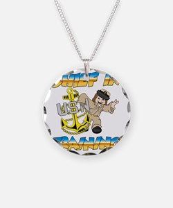 Navy Chief in Training littl Necklace