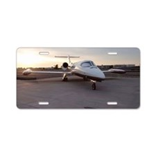 Lux Jet Aluminum License Plate