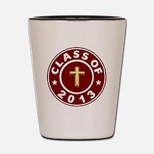 Class Of 2013 Christian Shot Glass