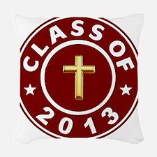 Class Of 2013 Christian Woven Throw Pillow