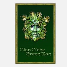 Clan O the Greenman w/ Ce Postcards (Package of 8)