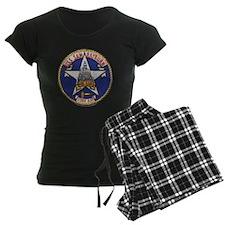 uss sam rayburn patch transp Pajamas