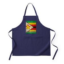 Vintage Zimbabwe Apron (dark)