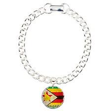 Vintage Zimbabwe Charm Bracelet, One Charm
