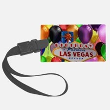 Birthday In Las Vegas Balloon Luggage Tag