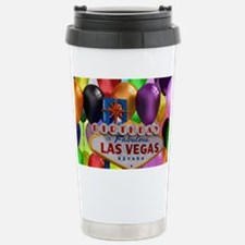 Birthday In Las Vegas Balloon Travel Mug