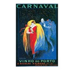 Vintage Carnival Print Postcards (Package of 8)