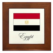 Egypt - Flag Framed Tile