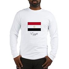 Egypt - Flag Long Sleeve T-Shirt