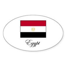 Egypt - Flag Oval Decal