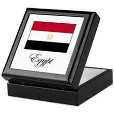 Egypt - Flag Keepsake Box