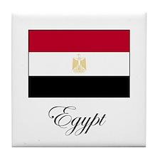 Egypt - Flag Tile Coaster