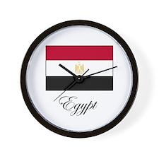 Egypt - Flag Wall Clock