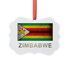 Vintage Zimbabwe Ornament
