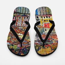Klimt Flip Flops