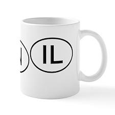 mini-Bumper tag MO IN IL Mug