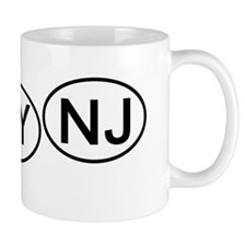 mini-Bumper tag NH NY NJ Mug