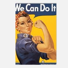 We Can Do It Postcards (Package of 8)