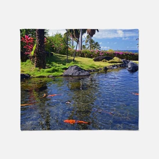 Kauai Serenity Throw Blanket