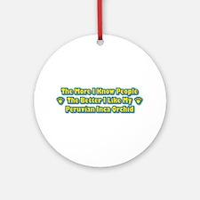 Like PIO Ornament (Round)