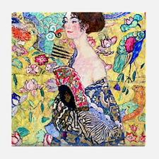 Klimt Tile Coaster